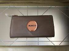 MIMCO Balsa MIM FOLD WALLET Polished Sheep Leather Authentic BNWT RRP179