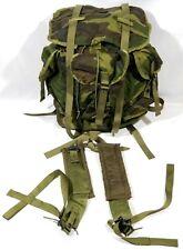 USGI Military Radio/Electronic Equipment Backpack/Case Carry w/ Straps Woodland