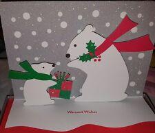Box 3D MoMA Museum of Modern Art Polar Bear Xmas Holiday Cards Polar Bear