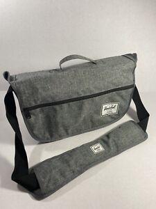 Herschel Supply Co. Laptop Messenger Bag Chambray gray Large