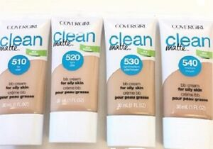 CoverGirl Ready Clean Matte Oil-Free BB Cream Foundation 1oz YOU CHOOSE
