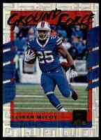 2017 DONRUSS GROUND FORCE LESEAN MCCOY BUFFALO BILLS #11 INSERT