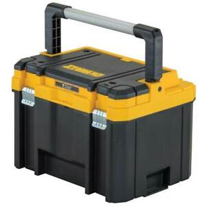 DeWALT DWST17814 TSTAK Heavy Duty Tool Storage Deep Tool Box w/ Long Handle