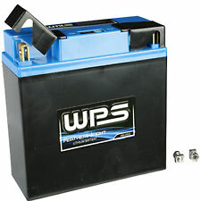 WPS Featherweight Lithium Battery 500 CCA  12v Motorcycle Cruiser Bike Supermoto