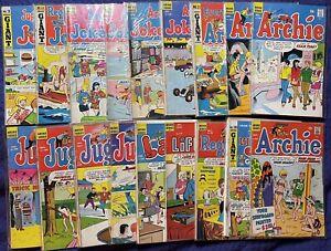 Vintage Archie Comics (Lot of 20)Jughead, Jinx, Laugh,Joke Book, Archie & Reggie