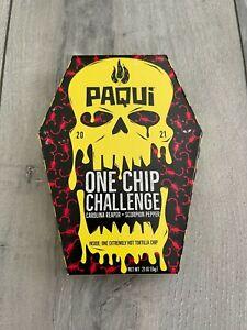 2021 Paqui One Chip Challenge Carolina Reaper & Scorpion Pepper - New w/ Banner