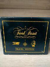 Vintage Trivial Pursuit Travel Edition 1990 Horn Abbot Family Kids Pocket Game