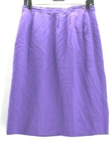 Pendleton Women's Petite 12 Knee Length Skirt with Pocket & Back Slit Purple