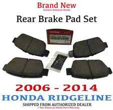 2006- 2014 Honda RIDGELINE Genuine Factory OEM Rear Brake Pads (43022-TK4-A00