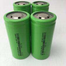 4pcs 32650 5000mAh 3.2V Lifepo4 Battery Rechargeable Li-Iron Phosphate E-bike