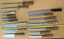Lot Of 16 Assorted Chicago Cutlery Knives & Sharpening Steel
