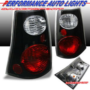 Set of Pair Black Taillights for 2001-2005 Ford Explorer Sport Trac