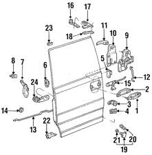 Genuine Ford Aerostar Side Sliding Door Lock Latch Assembly 86-97
