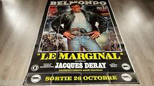belmondo LE MARGINAL ! affiche cinema modele preventive modele noir tres rare