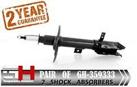 2 BRAND NEW FRONT SHOCK ABSORBERS FOR DODGE CALIBER 2006 GH-359333P