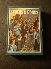 STOCKS & BONDS The Game of Investments 3M Bookshelf Game 1964 Original Box & Pap