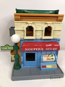 Sesame Street Mr. Hooper's Store Playset 123 Sesame Street Hasbro 2010 VGUC