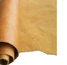 REED LEATHER HIDES - COW SKINS CAMEL COLOR 12 X 24 Inches 2 Square Foot