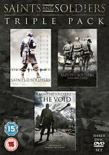 Saints And Soldiers Triple Pack (DVD) Battle of The Tanks