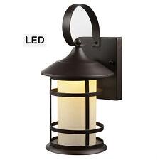 English Bronze LED Outdoor Patio / Porch Exterior Light Fixture : 21-2014
