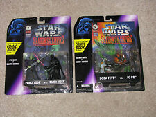 STAR WARS 2 SOTE 2 packs- Boba Fett vs. IG-88, Prince Xizor vs. Darth Vader MISP