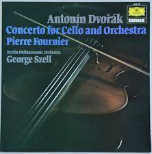 PIERRE FOURNIER/GEORGE SZELL DVORAK Concerto for Cello & Orch DGG EX/VG++
