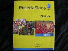 Rosetta Stone Deutsch Level 1 and 2