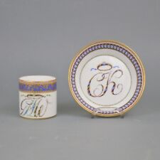 Tasse en porcelaine de Meissen Marcolini fin 18ème