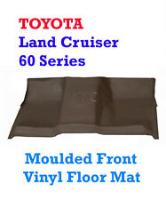 To suit Toyota Land Cruiser 60 Series Moulded Rubber Vinyl Front Floor