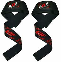 AQF Gel Padded Weight Lifting Training Gym Straps Hand Bar Wrist Support Gloves