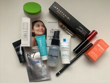 Lot of 12 Deluxe Makeup/Skin Care inc. No7, Smashbox, BareMinerals, MAC, Coola