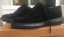 Tod's Para Mujer Zapatos De Gamuza Negra Talla 37.5
