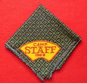 1962 Camp Staff Neckerchief Orange and Red Design [G2134]