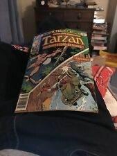Tarzan The Jungle Lord Returns 24 6.0 Fine Condition Pence Variant