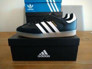 Adidas Velosamba SPD Cycling Shoes Black White Size 10.5 UK BNIBWT
