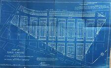 1929 Long Island Motor Parkway Floral Park Gardens Queens Ny Original Blueprint