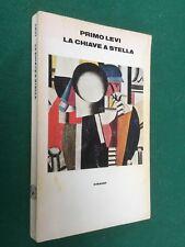 Primo LEVI - LA CHIAVE A STELLA (Supercoralli Einaudi 1° Ed 1978) Libro