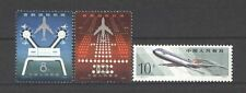 Flugzeuge, Luftfahrt, Airplane - China - 1619-1620, 1604 ** MNH
