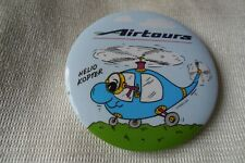 More details for airtours helio kopter pin lapel button badge , free u.k. p&p