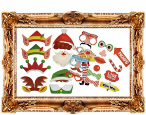 Selfie Kit Elf Photo Booth Props Christmas Party Accessories Party Decoration