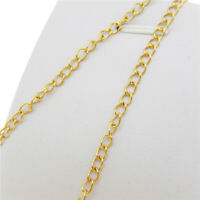 Stainless Steel 4x3mm Oval Ring Link Chain 5Meter Jewelry Making Findings Chains
