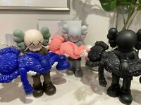 KAWS GONE NGV Limited Edition Companion Vinyl Figures BRAND NEW Authentic