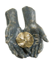 Angeles Anglada escultura time in your hands, Limited Edition, 2,8 kg