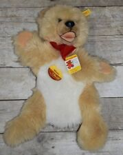 Nwt Vintage Steiff Mimic Bear Elbow Puppet Ear Tag 3490/45