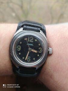rare wristwatch of the USSR Amphibian rocket, Working