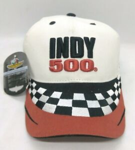 Vintage 2005 Indianapolis Motor Speedway Indy 500 One-Size Ball Cap Hat White