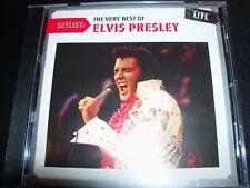 Elvis Presley  Setlist The Very Best Of Elvis Presley Live (Australia) CD - Like