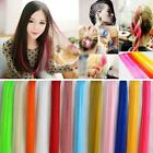 Straight Multi Color 2016 Synthetic Hair Extensions Clip Charm Women Piece Long