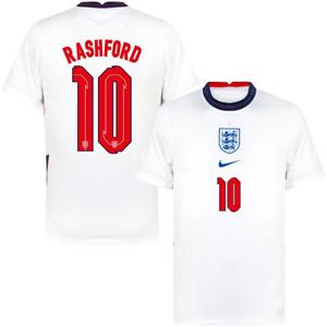 England Football Shirt Kids Nike Home Stadium Shirt - Rashford 10 - New