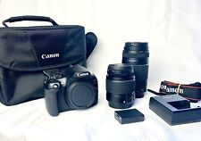 Canon Rebel EOS T6 18MP Digital SLR Camera Premium Kit EF-S 18-55mm with extras